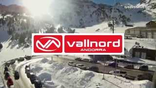 Esquí alpino en VALLNORD - Andorra / Descenso pistas, ski alpine skiing skifahren AND 2014 HD