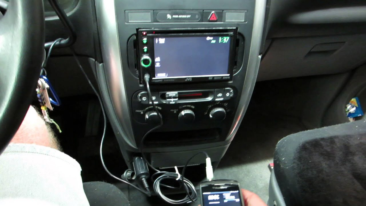 medium resolution of jvc kw av61 install into 2005 chrysler t c