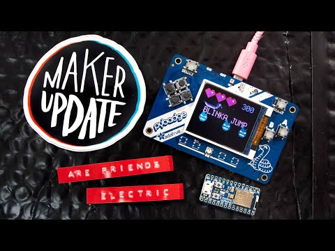Maker Update #185: Are Friends Electric? #Adafruit #MakerUpdate #Making @Adafruit @Photoresistor