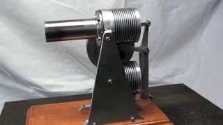 ロスヨーク型 ボア27mm ストローク22mm シリンダーピストンはガラス注射器です.