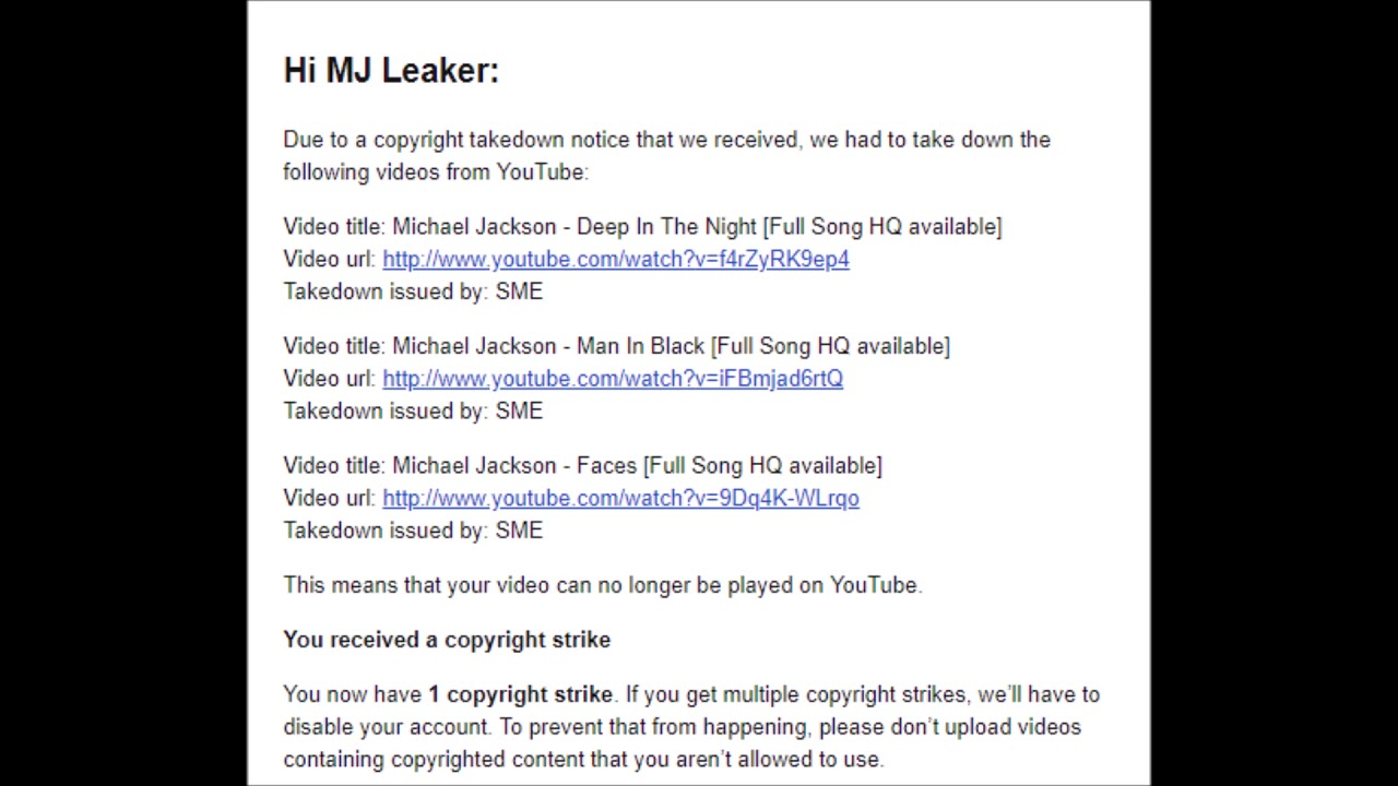 Michael Jackson - Unreleased Songs [DOWNLOAD] (Copyright Strike)