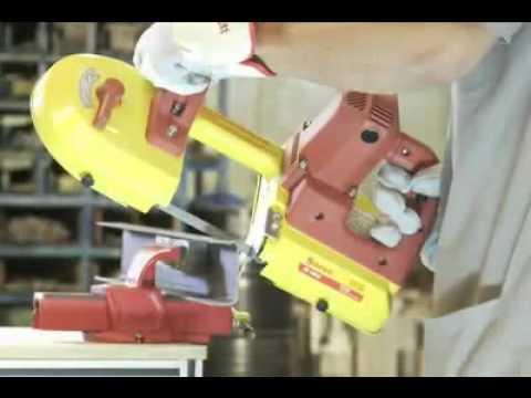 Starrett m quina de sierra de cinta port til s1010 youtube - Sierra para cortar madera ...