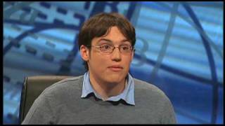 University Challenge - 2010 Final Guttenplan Spoof