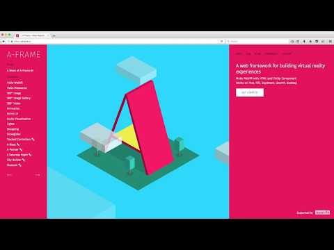 What Is A-Frame? (A-Frame Tutorial - WebVR)