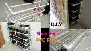 Shoe Rack from PVC PIPE: Arif Bookseller