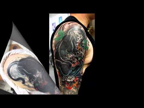 Tattoo cover-ups,3/4th sleeve and chest