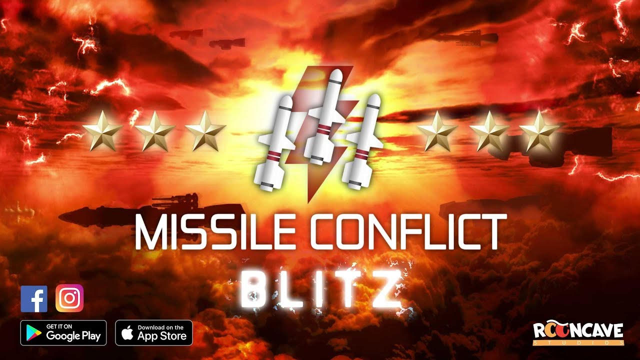 Missile Conflict BLITZ  - The arcade classic Missile Command reinvented - Official Release Trailer