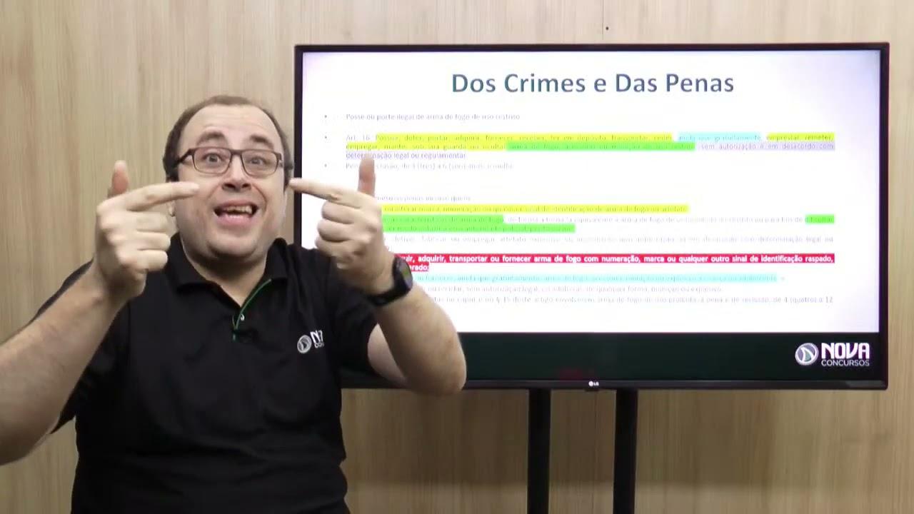 AULÃO DE REVISÃO - LEGISLAÇÃO EXTRAVAGANTE PARA O CONCURSO DA PM DE MG.