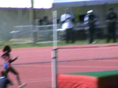 Leeward Island Youth 2009 Anguilla AXA female u15 high jump fail