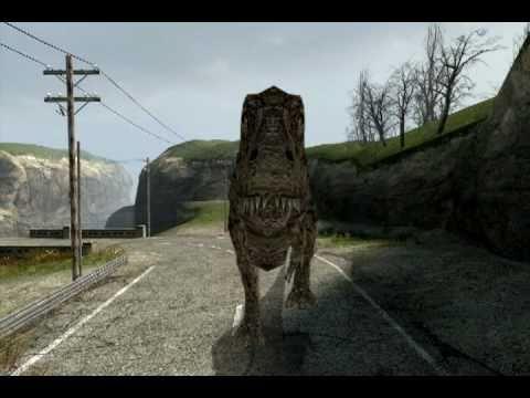 Tyrannosaurid Stroll