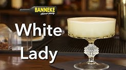 White Lady - Gin Cocktail selber mixen - Schüttelschule by Banneke