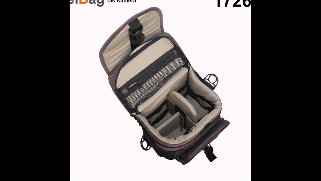 Tas Kamera Murah Produk Bandung Kode Eibag 1726 Coklat Youtube Travel Bag Backpack 602 Abu