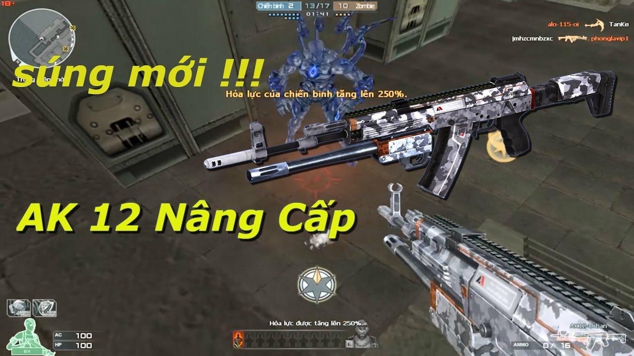 AK12 Urban - (Có Thêm Chức Năng Shotgun) - Tiến Zombie V4