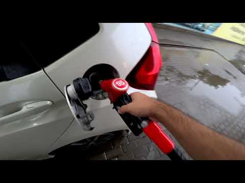 Honda Fit Гибрид удивляет расходом бензина