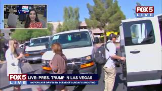 FOX 5 LIVE (10/4 - PART II): Las Vegas coverage continues as Trump meets with victims