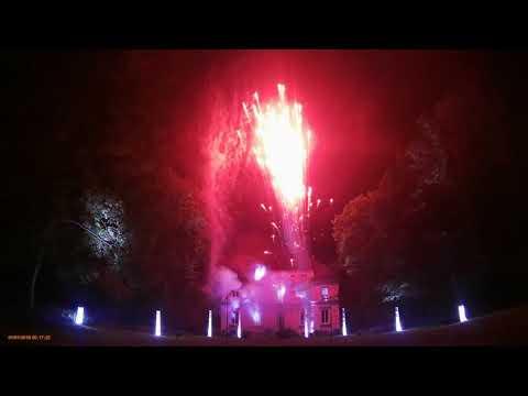 Feu d'artifice en vidéo à l'occasion de la Saint Germain