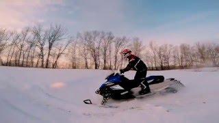 Катаемся на снегоходе. Открытие снегоходного сезона 2016(Катание на снегоходе с друзьями. Снега еще не много, но даже это не мешает нам делать небольшие выкрутасы)..., 2016-01-25T12:41:19.000Z)