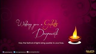 Deepavali wishes from Celebrities | Galatta Tamil
