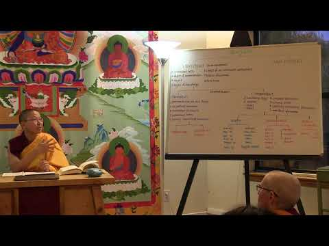 58 The Course in Buddhist Reasoning & Debate: Review of Divisions of the Selfless 10-18-18