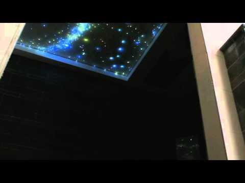 Fiber Optic Star Ceiling Bathroom Bedroom With Shooting