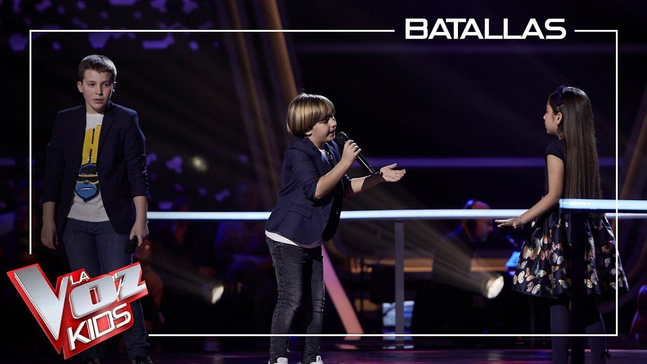 Download Santiago, Jesús y Alison cantan 'A puro dolor'   Batallas   La Voz Kids Antena 3 2021