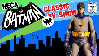 NECA ADAM WEST Classic TV show BATMAN Action Figure Unboxing and Review