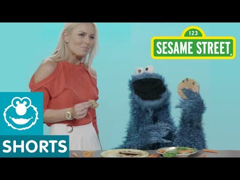 Sesame Street: How to Eat Like Cookie Monster with Olympic Athletes