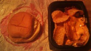 Wendy's Monterey Ranch Crispy Chicken Sandwich & Chili, Chips, & Cheese
