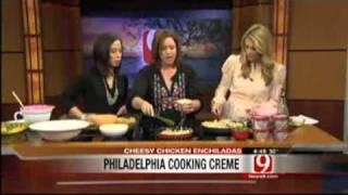 Creamy Shrimp Pasta & Easy Cheesy Chicken Enchiladas