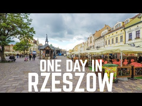 One Day in Rzeszow | Poland Travel Vlog 2017