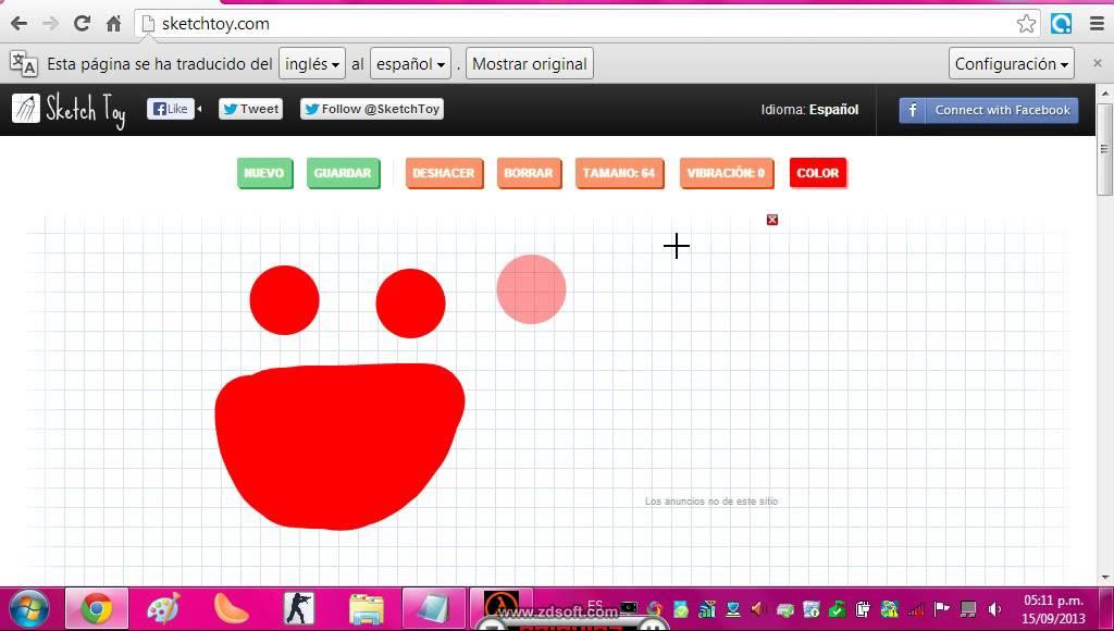 Una pagina para dibujar youtube for Programas para dibujar