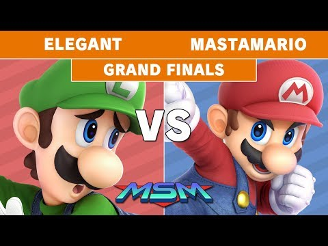 MSM 187 - Elegant (Luigi) Vs. POW | MastaMario (Mario) Grand Finals - Smash Ultimate