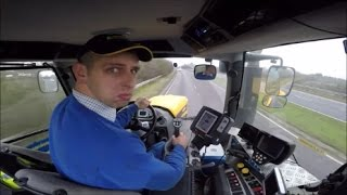 Tractor driving in Milton Keynes