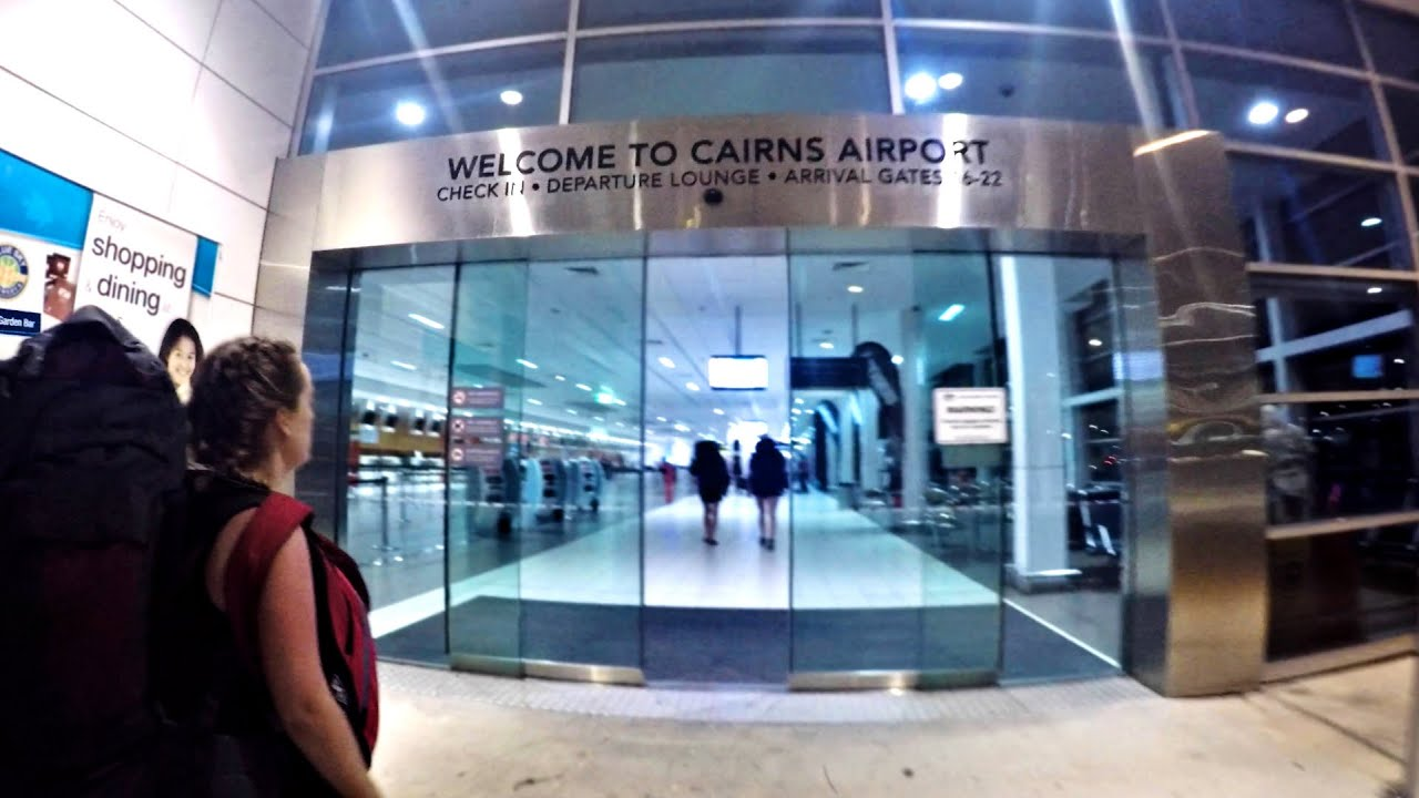 cairns airport goodbye australia youtube