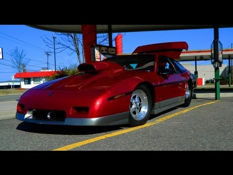 406 Cid V8 Pontiac Fiero Turn Up Your Volume Youtube