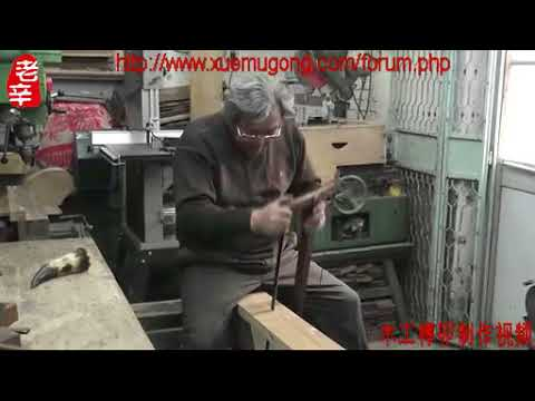 XinQuanSheng: Chinese traditional wood skill - How to make tenon-and-mortise