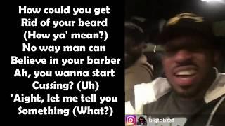 UK Rappers Freestyling In a Car (Lyrics) @Cadet @BigTobz