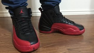 wife s jordan retro 12 flu game unbox and on feet review