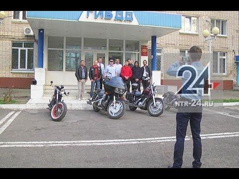 В Нижнекамске начальник ГИБДД встретился с байкерами