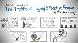 THE 7 HABITS OF HIGHLY EFFECTIVE PEOPLE BY STEPHEN COVEY - ANIMATED BOOK REVIEW thumbnail