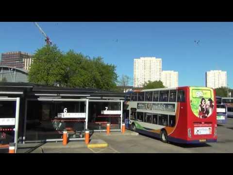 X78 Glasgow - Troon Bus Driver's Eye View
