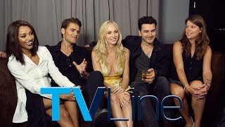 """The Vampire Diaries"" Interview at Comic-Con 2015 - TVLine"