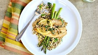 Pan Seared Tilapia With Lemon And Caper Sauce