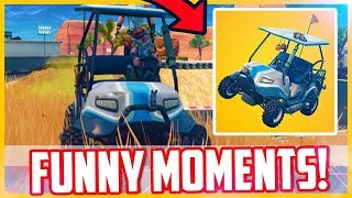 GETTING LAUNCHED OFF A CLIFF   Fortnite Battle Royale #7 ft. Azor Skittles & WcG Wolfie