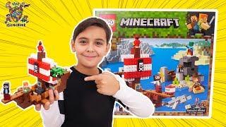 LEGO MINECRAFT: Пиратский корабль! Ярик отправляется за сокровищами ЛЕГО МАЙНКРАФТ!