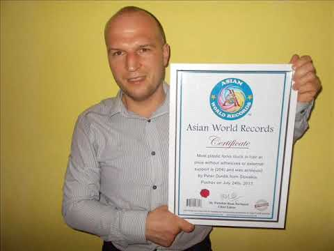 Peter Durdik from Slovakia sets a NEW ASIAN WORLD RECORDS