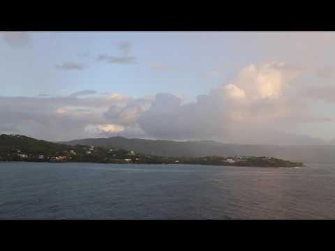 Trinité et Tobago Tobago Arrivée à Scarborough / Trinidad and Tobago Scarborough Arrival