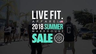 LVFT. Warehouse Sale 2018