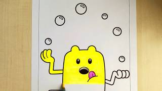 Wow Wow Wubbzy Coloring Pages   Coloring Juggling Wubbzy For Kids