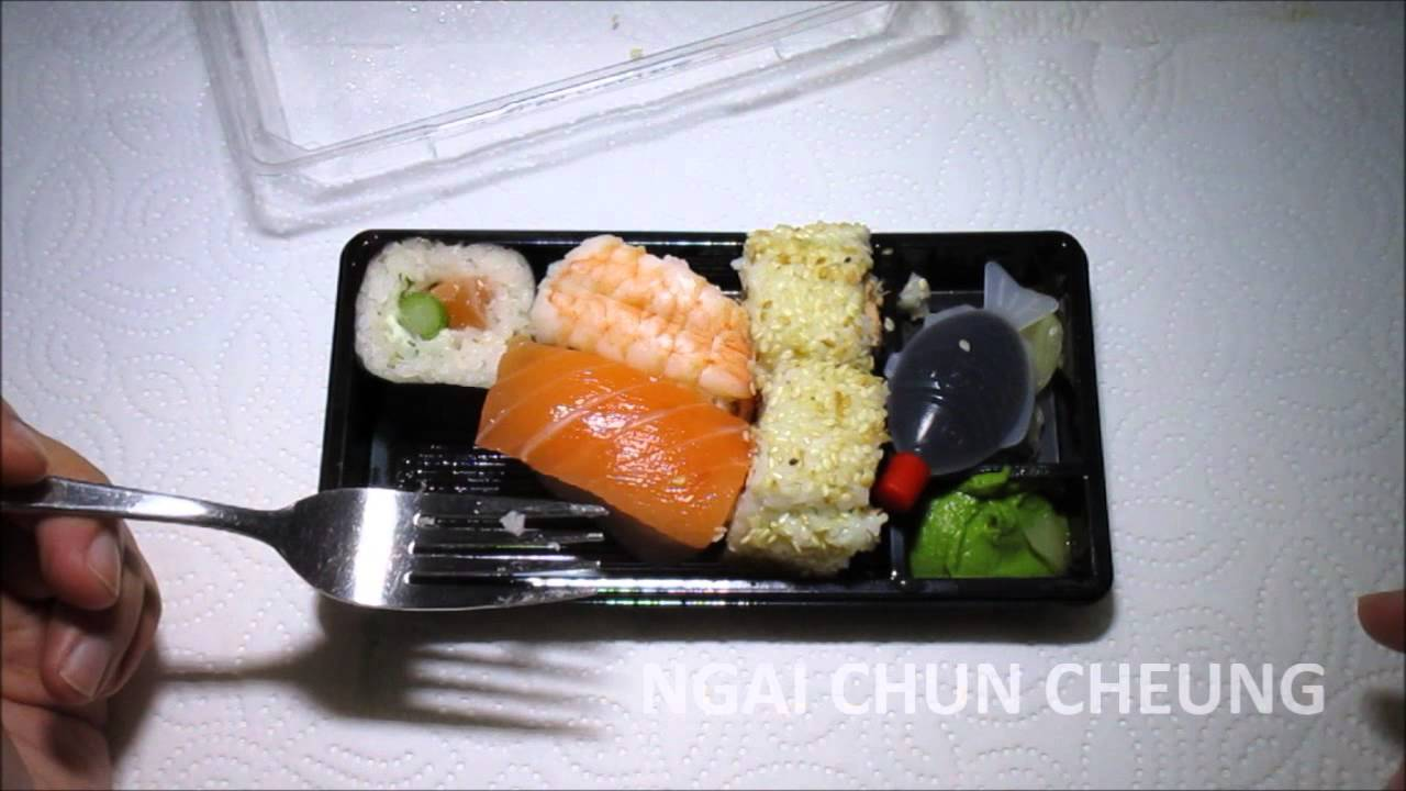 shokuji sushi box aldi youtube. Black Bedroom Furniture Sets. Home Design Ideas